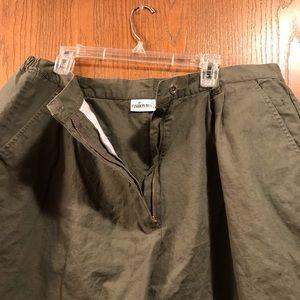 Fashion Bug Shorts - Olive Green Shorts